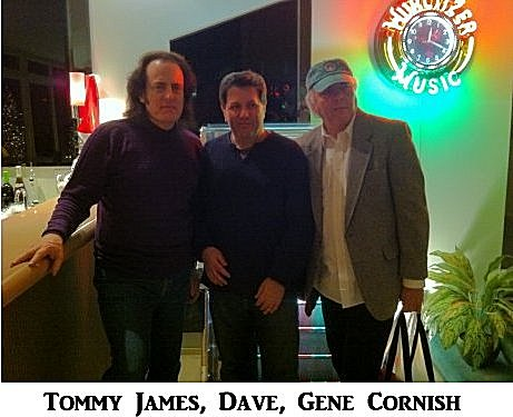 Tommy James, Dave,  Gene Cornish